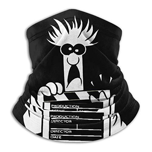 BaoXiaoShou Beaker The Muppets Show Warm Comfortable Dustproof Sports Breathable Face Shield Seamless Bandana Scarf Uv Sport Balaclavas Black