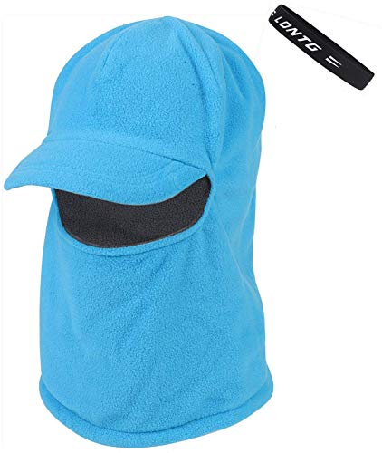 Gaocheng Unisex Winter Balaclava Hood Hat Neck Warmer Fleece Thermal Thicken Ski Mask Winddicht Full Face Cover Cap Sjaal Hood met een Hoofdband voor Outdoor Sport Fietsen Motorfiets