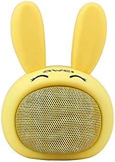 Awei Y700 Bunny Rabbit Mini Portable Wireless Speaker for iPhone, Xiaomi, Samsung, Huawei - Yellow