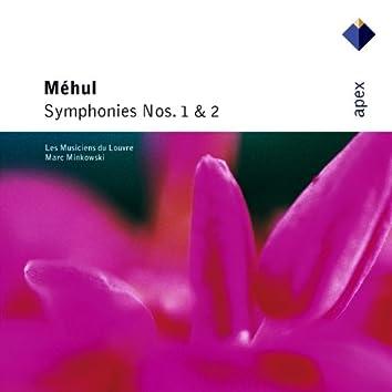 Méhul : Symphonies Nos 1 & 2  -  Apex