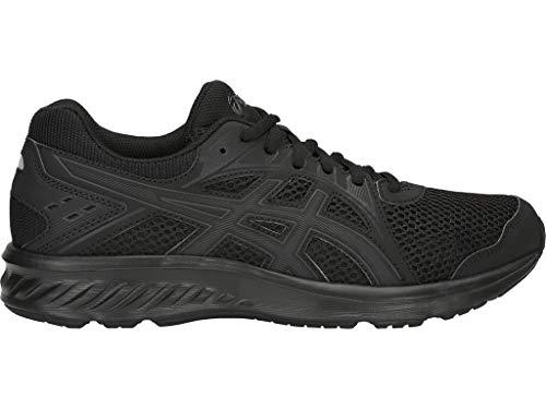 ASICS Jolt 2 Zapatillas de correr para mujer, Negro (Negro/Gris oscuro), 39 EU