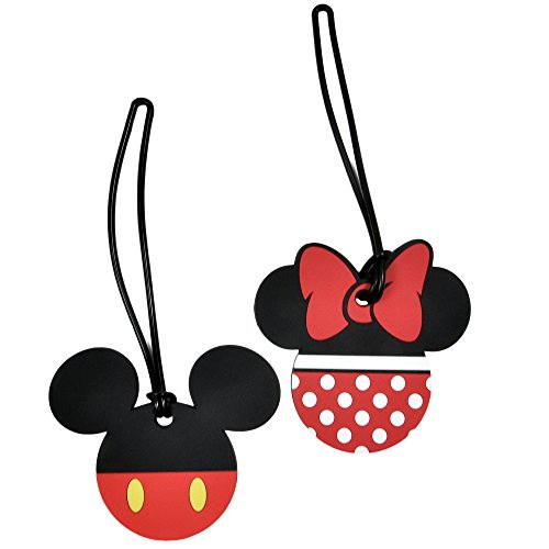 Mickey Minnie Mouse Luggage Tags
