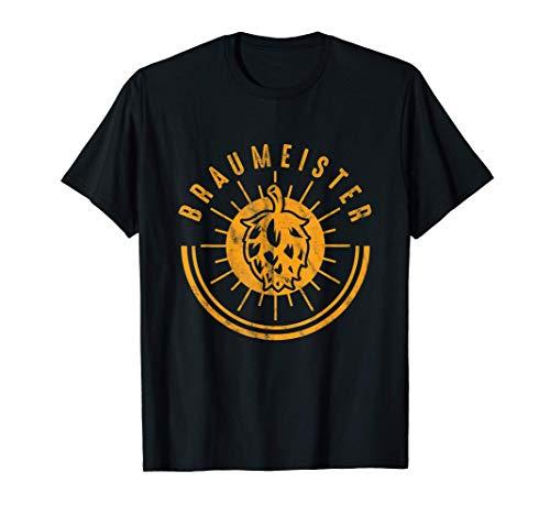 Brauer Bierbrauer Brauhaus Bier Brauen Hopfen Malz Geschenk T-Shirt
