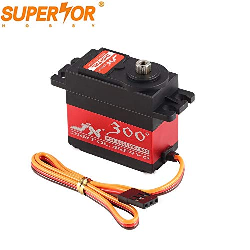 JX Servo PDI-6225MG-300 25kg 300 Degree Metal Gear Digital Servo for RC Airplane car Robot Arduino UNO Nano