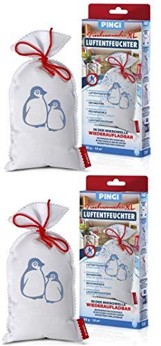 Pingi 2x Luftentfeuchter Beutel 450 g - LV-450 (Bundle)