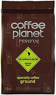 Coffee Planet Americas Blend Specialty Coffee Ground - 250 gm
