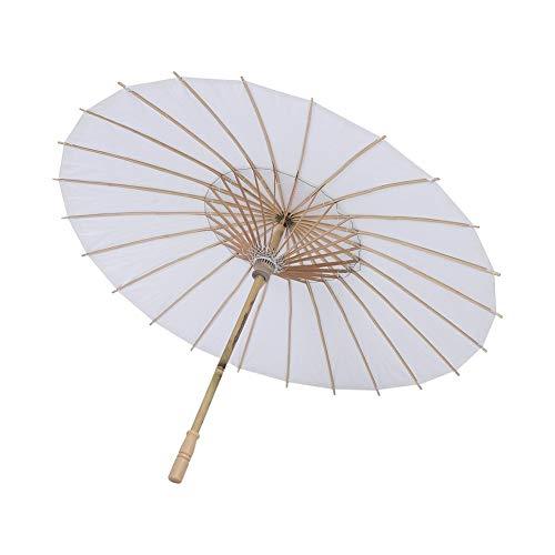 FTVOGUE - Sombrilla de papel estilo chino/japonés para fiestas, bodas, damas de honor, recuerdos, servicios fotográficos, disfraces, cosplay, decoración, bricolaje