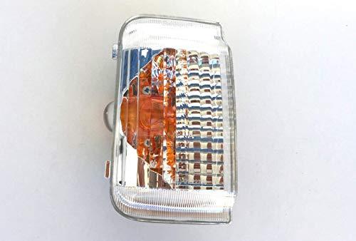 Pro!Carpentis Blinker Spiegelblinker links Fahrerseite kompatibel mit Ducato Boxer Jumper ab Baujahr 2006- klares Glas mit gelbem Reflektor