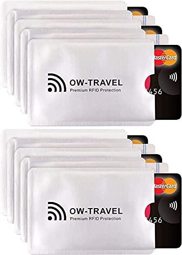 Bloqueo RFID - Anti FRAUDE - Protectores Funda para Tarjetas de Credito...