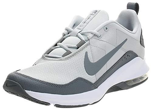 Nike Air MAX Alpha Trainer 2, Zapatillas de Deporte Hombre, Multicolor (Pure Platinum/Cool Grey/White 3), 41 EU