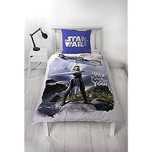 Funda nórdica de franela de Star Wars 100% algodón con funda de almohada 5
