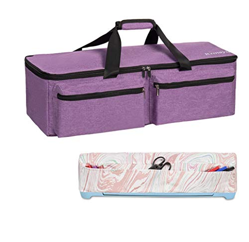 Carrying Bag Compatible with Cricut Explore Air and Maker,Tote Bag Compatible with Cricut Explore Air and Supplies (Purple)