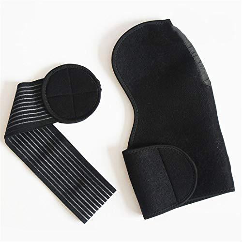YYZLL Schwarz Verstellbare Schulterstütze Klammer-Bügel-Fitnesstraining Schulter Abdeckung Aktivitäten Zubehör