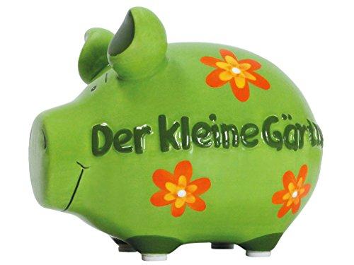 KCG Spardose Sparschwein Der kleine Gärtner