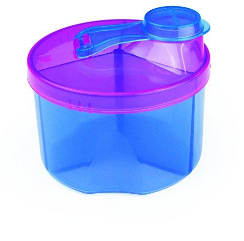 Munchkin Boîte Doseuse de Lait en Poudre 3 compartiments - 3x225 ml - Modèle aléatoire