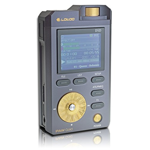 Lotoo PAW Gold Portable Digital Audio Player & DAC