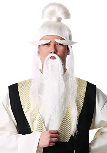 Fun Costumes Adult Kill Bill Pai Mei Wig Standard