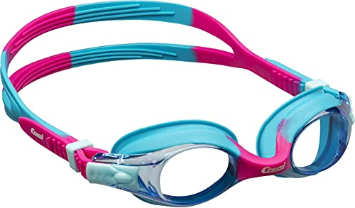 Cressi Dolphin 2.0 Gafas, Unisex niños, Azul Claro/Rosa, Talla única