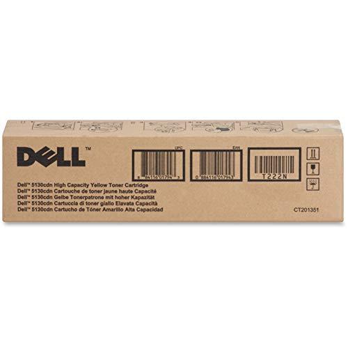 Dell T222N Yellow Toner Cartridge 5130cdn Color Laser Printer