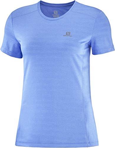 SALOMON - Maglietta da Donna XA W, Donna, Camicia, LC1481100030, Marina, S