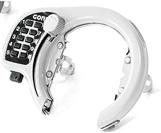 ゴリン(GORIN) ボタン式リング錠 ホワイト GR500-WH