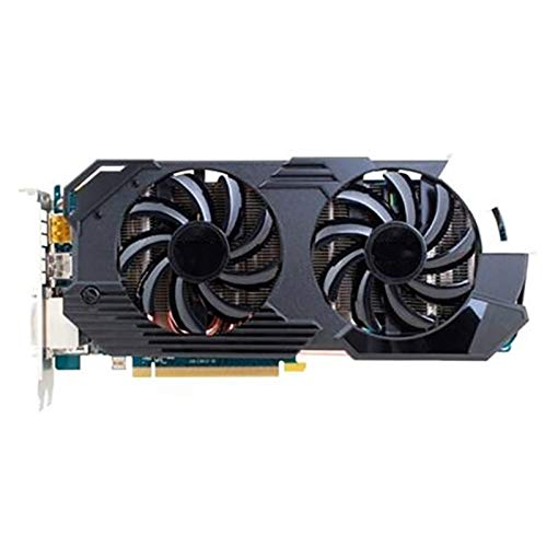 QINGMEI Graphics Fan Graphics Card Fit for Sapphire HD7950 3GB Video Card GPU for AMD Radeon HD 7950 3GB GDDR5 Graphics Screen Cards PC Computer Gaming Original Game Graphics Card