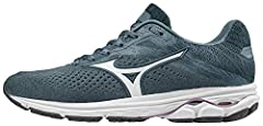 The Wave Rider 23's Mizuno Wave cushioning technology provides ultra soft comfort in a super secure fit Lightweight and breathable mesh upper offers controlled temperatures and top unwavering performance Wave Rider 23 features a dual compound midsole...