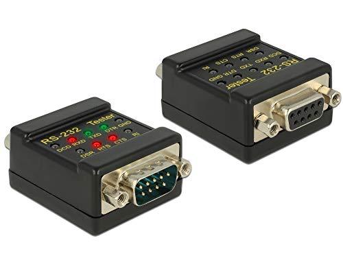 DeLock RS-232 Tester DB9 Buchse > DB9 Stecker