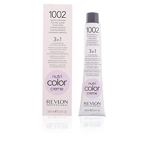 REVLON PROFESSIONAL Nutri Color Cream, Nr.1002 Platin Blond, 1er Pack (1 x 100 ml)