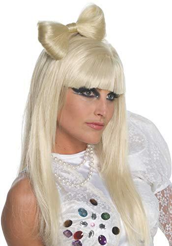Rubie's- Lady Gaga Vestido, Color amarillo, talla inglesa (I-51551)