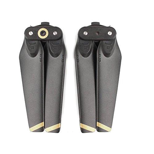 Darringls Hélice,2 Piezas Hélice Propulsor para dji Spark Drone de Repuesto y la Hoja Principal Hélices (Amarillo Negro)