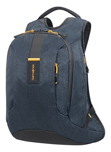 Samsonite Paradiver Light - Mochila M, 40 cm, 16 L, Azul (Jeans Blue)