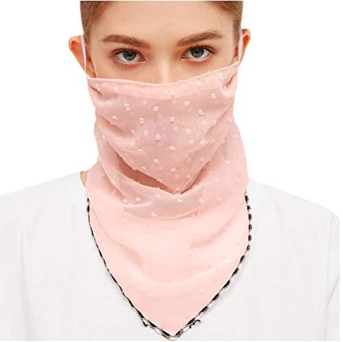MOTOCO Kopftuch Bandana Mode Halstuch Stirnband Damen Schlauchtuch Neck Gaiter Gesichtsschutz Kopfbedeckung Halsmanschette Frauen Multifunktionstuch(L.X)