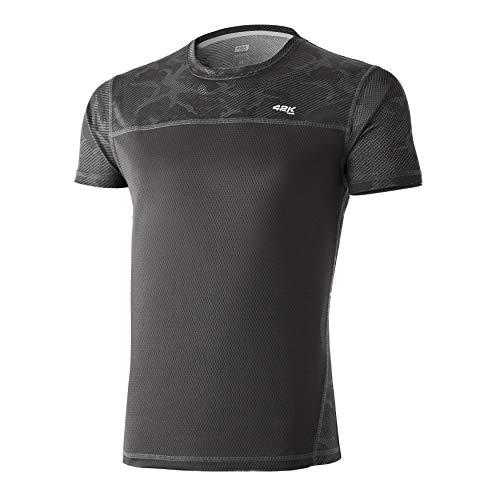 42K Running - Camiseta técnica 42K MIMET Hombre Slate Grey Camouflage M