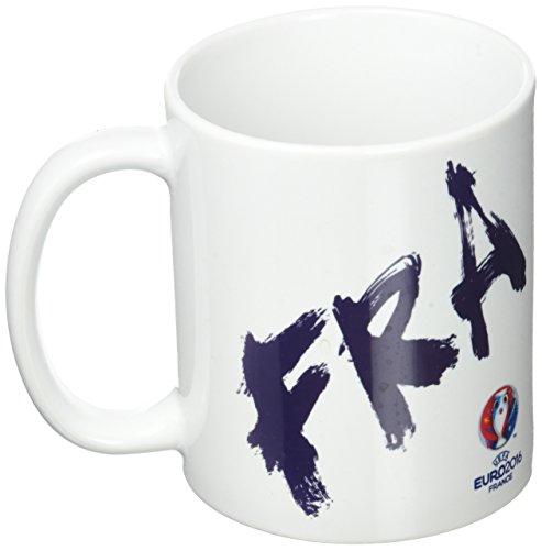 UEFA EURO 2016 - Kaffeetasse Frankreich Logo Weiss Kaffeebecher