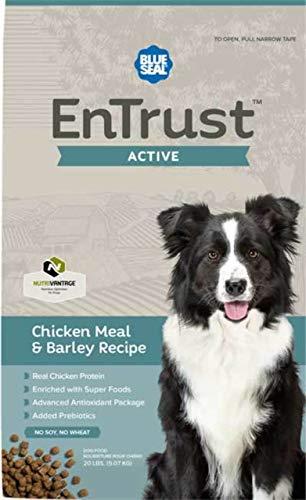 Blue Seal EnTrust Active Chicken Meal & Barley Dog Food (40 Pounds)