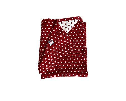 Lexington- Baby Colcha 90X120 Rojo Estrella- 100% Algodón