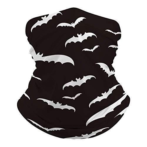 Protection Half Face Bandanas Balaclava, Face ScarfBat Animal Neck Gaiter, Windproof Face Mask