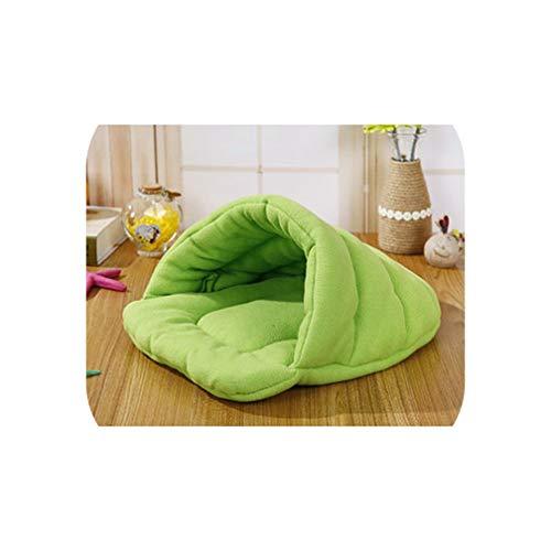 Hot! Pet Cat Bed Small Dog Puppy Kennel Sofa Polar Fleece Material Bed Pet Mat Cat House Cat Sleeping Bag Warm Nest,4,M 45x40cm