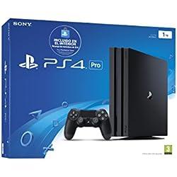 PlayStation 4 Pro (PS4) - Consola de 1 TB (incluye recarga de monedero de 10 €) + Grand Theft Auto V (GTA V) (PS4) + Sony - DualShock 4 Negro V2 (PS4): Amazon.es: Videojuegos