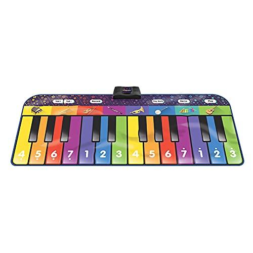 Klavier Tanzmatte-Kinder Musikmatten-Baby Musical Teppichmatte Touch Play...