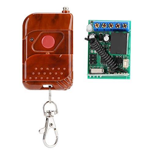 Módulo de relé de control remoto Alarma antirrobo, para productos de control industrial, para cerradura de puerta eléctrica remota