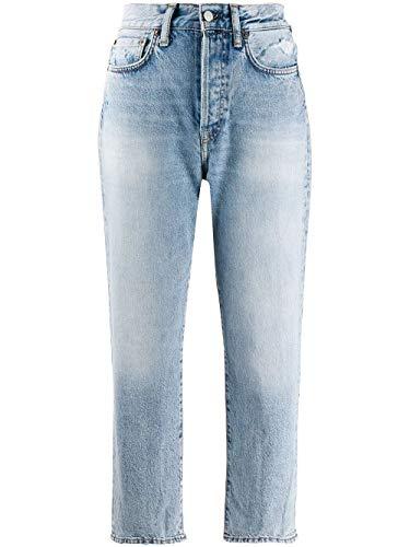 ACNE STUDIOS Luxury Fashion Damen A00041228 Hellblau Jeans | Herbst...