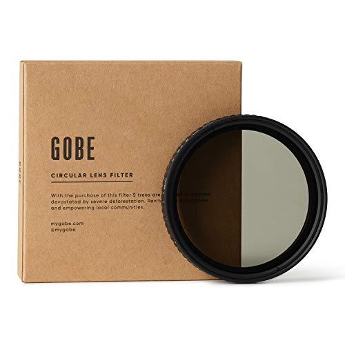 Gobe - Filtro per obiettivi ND variabile ND2-32 (1-5 Stop) 72 mm (1Peak)