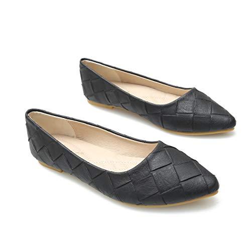 Kimpola Zapatos Bailarina para Mujer Zapatos Planos Salvajes Cucharada Puntiaguda Bombas Planas...