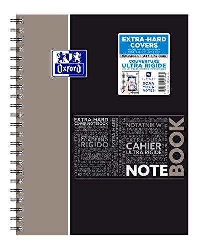 OXFORD 400037406 Notebook Studium Digitaler Collegeblock A4 kariert 80 - Zufallsfarbe, kein Farbwunsch möglich