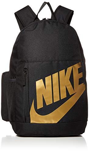 Nike Unisex Jugend FA19 Rucksack, Black/Black/METALLIC Gold, One Size