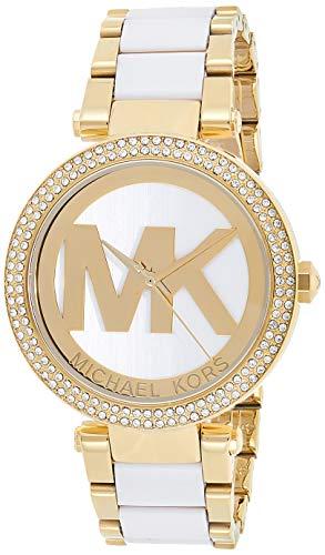 Relógio Michael Kors Mk6313 Parker Dourado 39Mm