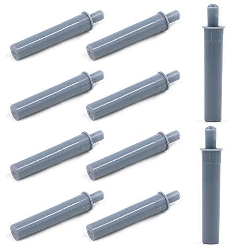 Amortiguador de Puerta de Muebles 10 Piezas Plástico Bisagra de Cajón para Cierre de Latch Amortiguador de Push to Open Sistema para Puertas de Armario Reducción de Ruido y Amortiguación.