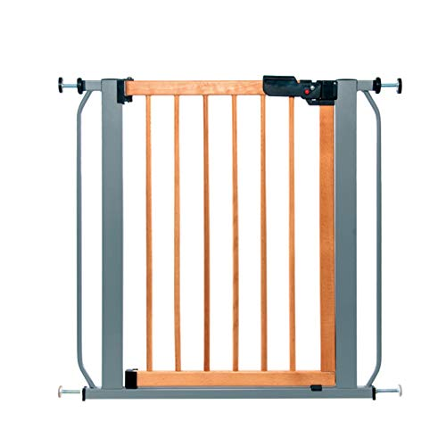 ZXCASDF Summer Multi-Use Decorative Extra Tall Walk-Thru Baby Gate, Metal, Bronze Finish Baby And Pet Gate for Doorways And Stairways